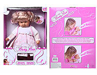 Детская кукла, сосет соску и плачет, 98222, фото