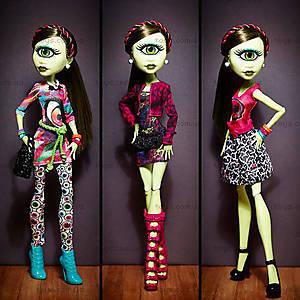 Кукла Айрис Клопc Monster High с набором одежды, CKD73