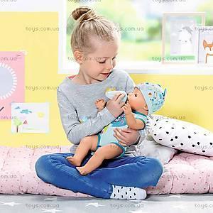 Кукла BABY BORN «Очаровательный малыш» в голубом бодике, 824375, игрушки