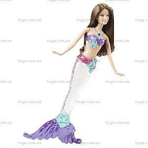 Кукла Барби-русалка «Яркие огоньки», V7046, купить