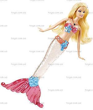 Кукла Барби-русалка «Яркие огоньки», V7046