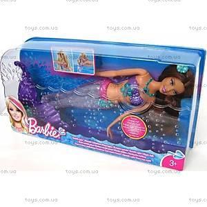 Кукла Барби-русалка «Яркие огоньки», V7046, фото
