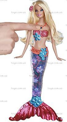 Кукла Барби-русалка «Яркие огоньки», V7046, отзывы