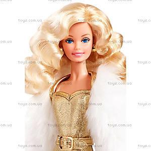 Коллекционная кукла Барби серии «Золотые мечты», DGX88, фото
