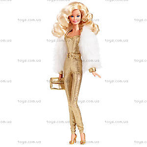 Коллекционная кукла Барби серии «Золотые мечты», DGX88