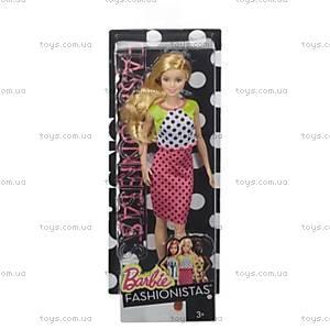 Кукла Barbie «Модница», обновленная, DGY54, детские игрушки