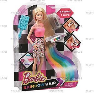 Кукла Barbie «Радужные волосы», CFN48