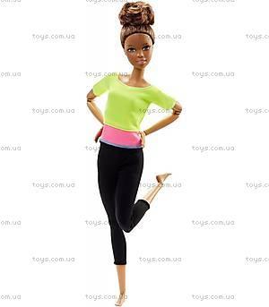 Детская кукла Барби «Двигайся как я», DHL81, іграшки