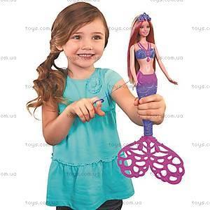 Кукла Barbie Русалочка «Сказочные пузыри», CFF49, купить