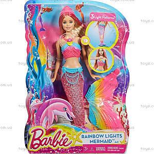 Барби-русалочка серии «Яркие огоньки», DHC40, фото