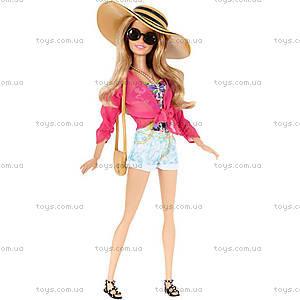Кукла Barbie «Стильный отдых» с одеждой, CFN05, купить