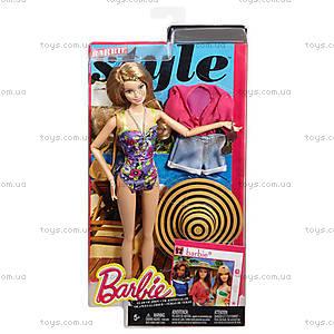 Кукла Barbie «Стильный отдых» с одеждой, CFN05, отзывы
