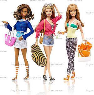 Кукла Barbie «Стильный отдых» с одеждой, CFN05, цена