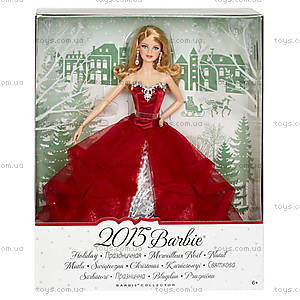 Кукла Barbie «Праздничная 2015», CHR76, фото