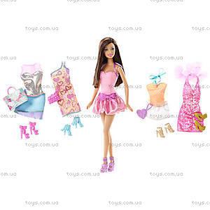 Кукла Барби с набором «Мой гардероб», T3539, фото