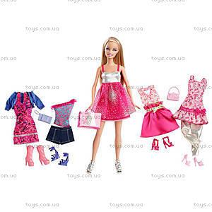 Кукла Барби с набором «Мой гардероб», T3539, отзывы