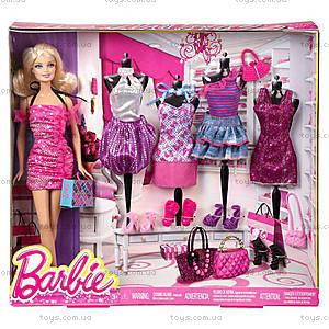 Кукла Барби с набором «Мой гардероб», T3539