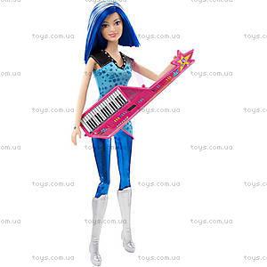 Кукла Барби «Звезда сцены» из м/ф «Барби: Рок-принцесса», CKB60, фото