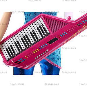 Кукла Барби «Звезда сцены» из м/ф «Барби: Рок-принцесса», CKB60, цена