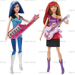 Кукла Барби «Звезда сцены» из м/ф «Барби: Рок-принцесса», CKB60