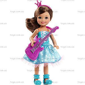 Кукла Челси из м/ф «Барби: Рок-принцесса», CKB68, отзывы