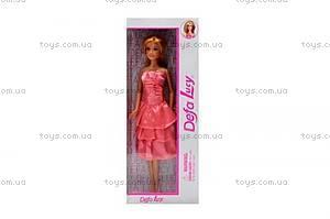 Детская кукла «Люси» в платье, 8138