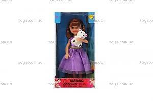 Детская кукла с медвежонком, 8280