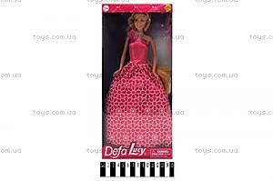 Кукла Defa в нарядном платье, 8308