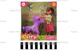 Кукла Defa с пони, 8303
