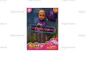 Детская кукла «Люси» со скейтом, 8295
