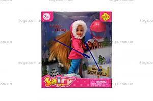 Детская кукла «Зимний отдых», 8310