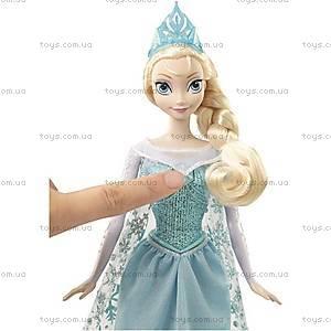 Кукла Дисней «Поющая Эльза» из м/ф «Холодное сердце», CHW87, фото