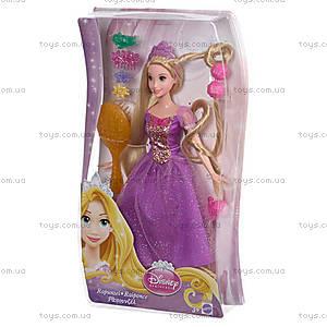Кукла Принцесса Рапунцель «Игра с волосами», CJP12, купить