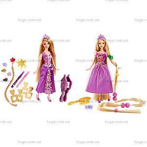 Кукла Принцесса Рапунцель «Игра с волосами», CJP12, фото