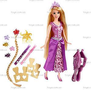 Кукла Принцесса Рапунцель «Игра с волосами», CJP12, цена