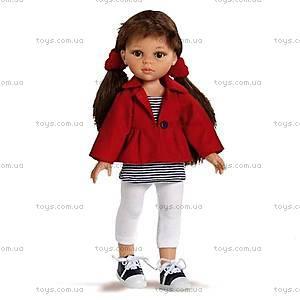Детская кукла «Керол в красном пиджаке», 04624