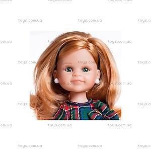 Детская кукла «Клер в клетчатом платье», 04505, купить
