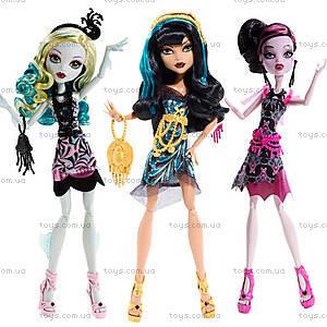 Кукла Monster High «Черная дорожка» из серии «Страх, камера, мотор», BDF22