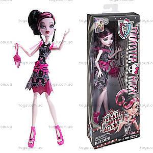 Кукла Monster High «Черная дорожка» из серии «Страх, камера, мотор», BDF22, цена