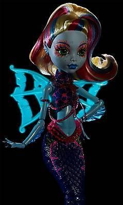 Кукла «Монстро-рыбка» из м/ф «Большой скарьерный риф», DHB57, фото