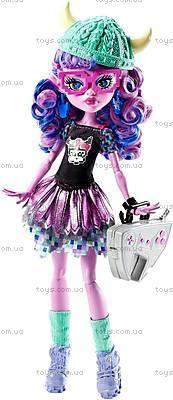 Кукла Monster High «Монстры по обмену», DJR52, игрушки