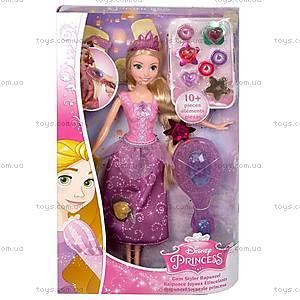 Кукла-принцесса Рапунцель «Сказочные украшения», CJH26
