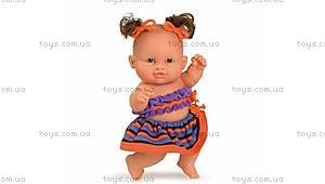 Кукла-пупс «Девочка Ирина», в оранжевом, 01205
