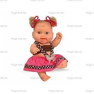 Кукла-пупс «Европейка в розовом», 01207