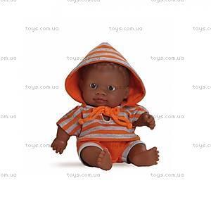 Кукла-пупс «Мулат в оранжевом», 01200