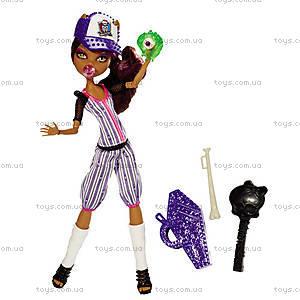 Кукла Monster High серии «Монстры спорта», BJR11, отзывы