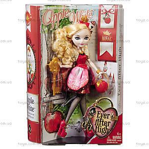 Кукла серии «Сказочные королевичи» Ever After High, обновленная, BBD51, игрушки