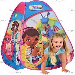 Лицензионная игровая палатка «Доктор Плюшева», 6634