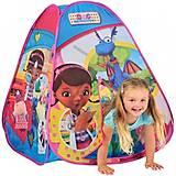 Лицензионная игровая палатка «Доктор Плюшева», 6634, детские игрушки