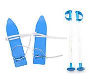 Лыжи детские «KIDS SKI» 40 см синие , 6104